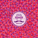 Γεωμετρικό υπόβαθρο 01 Hipster Στοκ Εικόνα