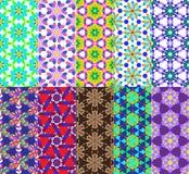 Γεωμετρικό ύφος σχεδίων Στοκ εικόνες με δικαίωμα ελεύθερης χρήσης