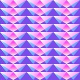 Γεωμετρικό semless πορφυρό σχέδιο Στοκ φωτογραφία με δικαίωμα ελεύθερης χρήσης