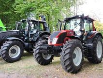 γεωργικά μηχανήματα που seeder η άνοιξη Στοκ Φωτογραφία