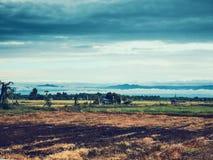 γεωργικά πεδία στοκ φωτογραφία