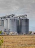 γεωργικά σιλό Στοκ εικόνα με δικαίωμα ελεύθερης χρήσης