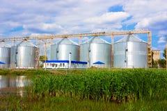 γεωργικός ανελκυστήρα&si Στοκ εικόνα με δικαίωμα ελεύθερης χρήσης