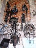Γεωργικό μουσείο Grazzano Visconti στοκ εικόνες