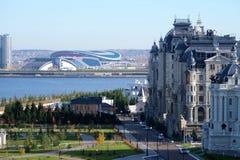 Γεωργικό παλάτι, Kazan Κρεμλίνο, Kazan Ρωσία Στοκ εικόνα με δικαίωμα ελεύθερης χρήσης