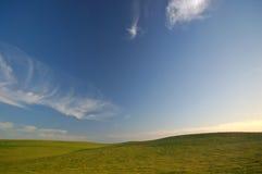 γεωργικό τοπίο στοκ φωτογραφία με δικαίωμα ελεύθερης χρήσης