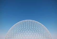 Γεωδεσικός θόλος Στοκ φωτογραφία με δικαίωμα ελεύθερης χρήσης