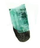 Γεωλογικά κρύσταλλα πολύτιμων λίθων Aquamarine geode Στοκ Εικόνες
