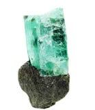 Γεωλογικά κρύσταλλα πολύτιμων λίθων Aquamarine geode Στοκ φωτογραφία με δικαίωμα ελεύθερης χρήσης