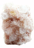 Γεωλογικά κρύσταλλα Apophyllite geode Στοκ Φωτογραφίες