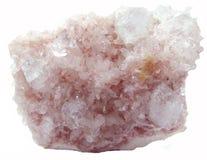 Γεωλογικά κρύσταλλα Apophyllite geode Στοκ Εικόνες