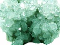 Γεωλογικά κρύσταλλα Apophyllite geode Στοκ εικόνα με δικαίωμα ελεύθερης χρήσης