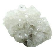 Γεωλογικά κρύσταλλα Apophyllite geode Στοκ Φωτογραφία