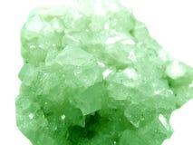 Γεωλογικά κρύσταλλα Apophyllite geode Στοκ εικόνες με δικαίωμα ελεύθερης χρήσης