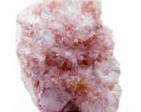 Γεωλογικά κρύσταλλα Apophyllite geode Στοκ φωτογραφίες με δικαίωμα ελεύθερης χρήσης