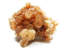 Γεωλογικά κρύσταλλα Aragonite geode Στοκ Εικόνες