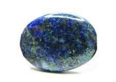 Γεωλογικό κρύσταλλο Lazurite Στοκ Εικόνες
