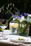 γεύμα έξω από την τιμή τών παραμέτρων του πίνακα Στοκ Εικόνα