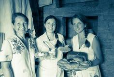 Γεύμα αγρόκτημα-ύφους Στοκ Φωτογραφία
