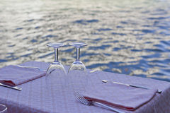 γεύμα Βενετία Στοκ φωτογραφίες με δικαίωμα ελεύθερης χρήσης