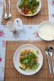 γεύμα βραδιού Στοκ εικόνες με δικαίωμα ελεύθερης χρήσης