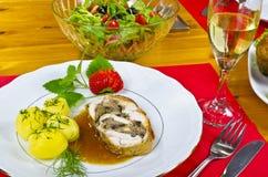 Γεύμα για δύο Στοκ φωτογραφία με δικαίωμα ελεύθερης χρήσης
