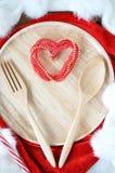 Γεύμα για την αγάπη Στοκ φωτογραφία με δικαίωμα ελεύθερης χρήσης