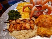 Γεύμα διακοπών στοκ φωτογραφίες