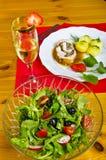 γεύμα δύο Στοκ εικόνα με δικαίωμα ελεύθερης χρήσης