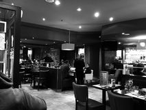 Γεύμα εστιατορίων Στοκ Εικόνες
