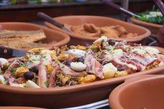 Γεύμα θαλασσινών Στοκ Φωτογραφίες