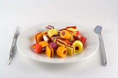 γεύμα καραμελών Στοκ Φωτογραφία