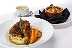 γεύμα κοτόπουλου που κ Στοκ φωτογραφία με δικαίωμα ελεύθερης χρήσης