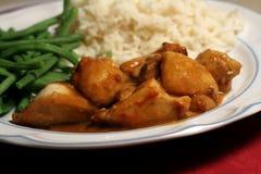 γεύμα κοτόπουλου Στοκ Εικόνες