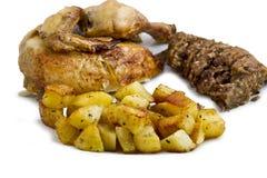 γεύμα κοτόπουλου Στοκ φωτογραφίες με δικαίωμα ελεύθερης χρήσης