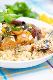 γεύμα Μαροκινός Στοκ φωτογραφία με δικαίωμα ελεύθερης χρήσης
