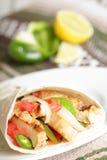 γεύμα μεξικανός Στοκ Εικόνα