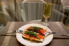 Γεύμα μοναξιάς Στοκ φωτογραφία με δικαίωμα ελεύθερης χρήσης