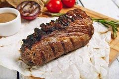 Γεύμα μπριζόλας βόειου κρέατος Στοκ φωτογραφίες με δικαίωμα ελεύθερης χρήσης