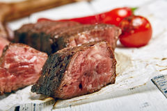 Γεύμα μπριζόλας βόειου κρέατος Στοκ Εικόνα