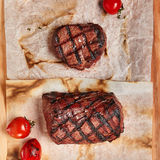 Γεύμα μπριζόλας βόειου κρέατος Στοκ Εικόνες