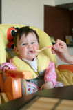 γεύμα μωρών Στοκ Φωτογραφίες