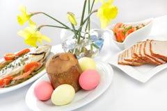 γεύμα Πάσχα Στοκ Εικόνες