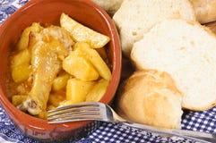Γεύμα παπρικών στοκ εικόνα με δικαίωμα ελεύθερης χρήσης