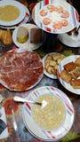 Γεύμα Παραμονής Χριστουγέννων! Στοκ φωτογραφίες με δικαίωμα ελεύθερης χρήσης
