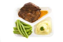 γεύμα που προετοιμάζετ&alpha Στοκ Εικόνα