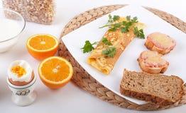 γεύμα προγευμάτων Στοκ εικόνες με δικαίωμα ελεύθερης χρήσης