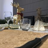 Γεύμα προ-Χριστουγέννων στοκ εικόνες