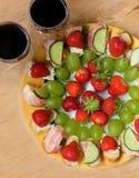 γεύμα ρομαντικά δύο Στοκ φωτογραφία με δικαίωμα ελεύθερης χρήσης