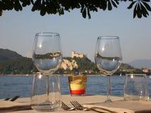 γεύμα ρομαντικό Στοκ φωτογραφία με δικαίωμα ελεύθερης χρήσης